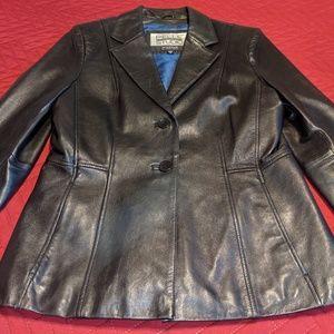 Pelle Studio Black Leather Jacket